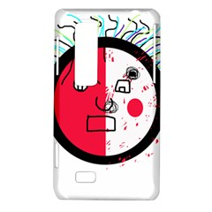 Angry transparent face LG Optimus Thrill 4G P925