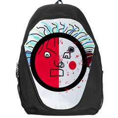Angry transparent face Backpack Bag