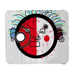 Angry transparent face Samsung Galaxy S  III Flip 360 Case