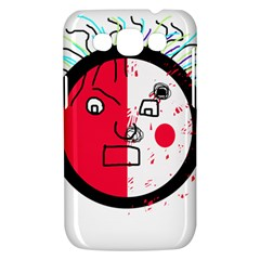 Angry transparent face Samsung Galaxy Win I8550 Hardshell Case