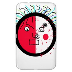 Angry transparent face Samsung Galaxy Tab 3 (8 ) T3100 Hardshell Case
