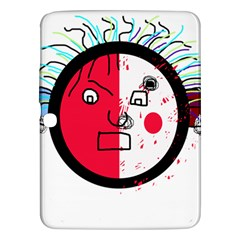 Angry transparent face Samsung Galaxy Tab 3 (10.1 ) P5200 Hardshell Case