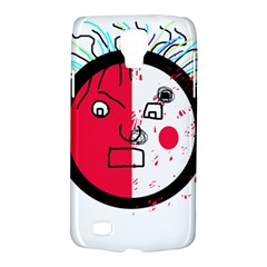 Angry transparent face Galaxy S4 Active