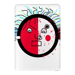 Angry transparent face Samsung Galaxy Tab Pro 12.2 Hardshell Case
