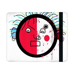 Angry transparent face Samsung Galaxy Tab Pro 8.4  Flip Case