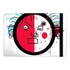 Angry transparent face Samsung Galaxy Tab Pro 10.1  Flip Case