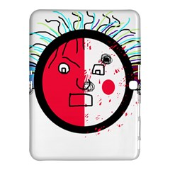 Angry Transparent Face Samsung Galaxy Tab 4 (10 1 ) Hardshell Case