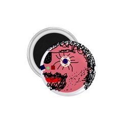 Abstract face 1.75  Magnets