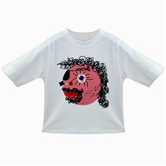 Abstract face Infant/Toddler T-Shirts