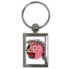 Abstract face Key Chains (Rectangle)