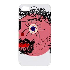 Abstract face Apple iPhone 4/4S Premium Hardshell Case