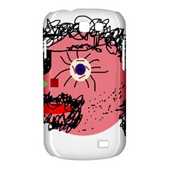 Abstract face Samsung Galaxy Express I8730 Hardshell Case