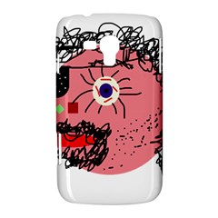 Abstract face Samsung Galaxy Duos I8262 Hardshell Case