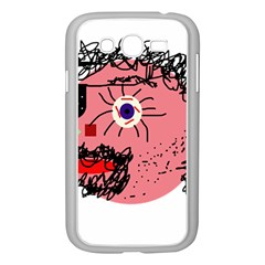 Abstract face Samsung Galaxy Grand DUOS I9082 Case (White)