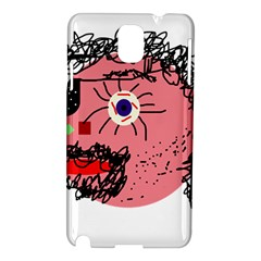 Abstract face Samsung Galaxy Note 3 N9005 Hardshell Case