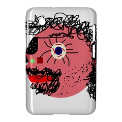 Abstract face Samsung Galaxy Tab 2 (7 ) P3100 Hardshell Case