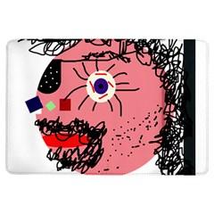 Abstract face iPad Air Flip