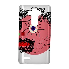 Abstract face LG G4 Hardshell Case