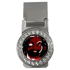 Abstract face  Money Clips (CZ)