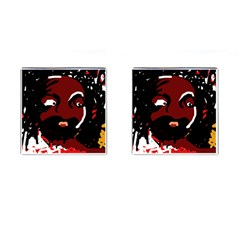 Abstract face  Cufflinks (Square)