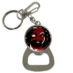 Abstract face  Bottle Opener Key Chains