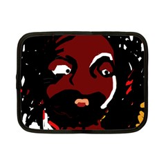 Abstract face  Netbook Case (Small)