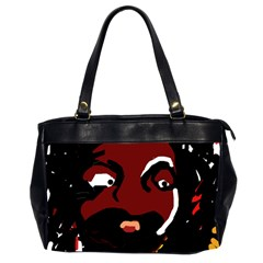 Abstract face  Office Handbags (2 Sides)