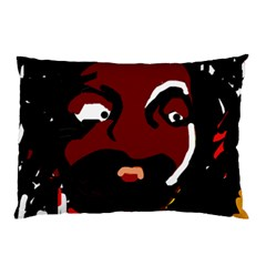 Abstract face  Pillow Case (Two Sides)