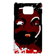 Abstract face  Samsung Galaxy S2 i9100 Hardshell Case