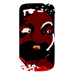 Abstract face  HTC Desire S Hardshell Case