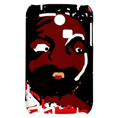 Abstract face  Samsung S3350 Hardshell Case