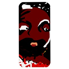 Abstract face  Apple iPhone 5 Hardshell Case