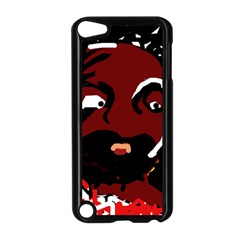 Abstract face  Apple iPod Touch 5 Case (Black)