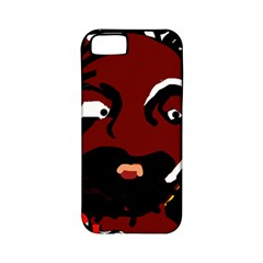 Abstract face  Apple iPhone 5 Classic Hardshell Case (PC+Silicone)