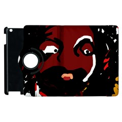 Abstract face  Apple iPad 2 Flip 360 Case