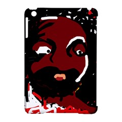 Abstract face  Apple iPad Mini Hardshell Case (Compatible with Smart Cover)