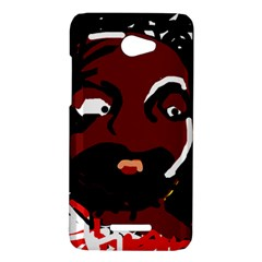 Abstract face  HTC Butterfly X920E Hardshell Case
