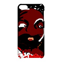 Abstract face  Apple iPod Touch 5 Hardshell Case with Stand
