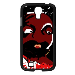 Abstract face  Samsung Galaxy S4 I9500/ I9505 Case (Black)