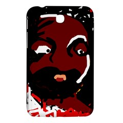 Abstract face  Samsung Galaxy Tab 3 (7 ) P3200 Hardshell Case