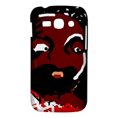 Abstract face  Samsung Galaxy Ace 3 S7272 Hardshell Case