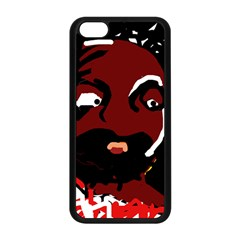 Abstract face  Apple iPhone 5C Seamless Case (Black)