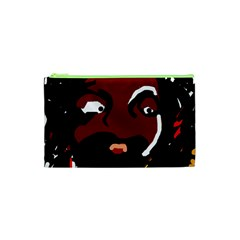 Abstract face  Cosmetic Bag (XS)