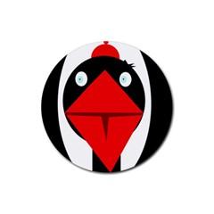 Duck Rubber Coaster (Round)