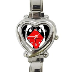 Duck Heart Italian Charm Watch