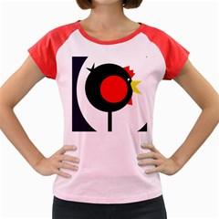 Fat chicken Women s Cap Sleeve T-Shirt