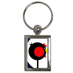 Fat chicken Key Chains (Rectangle)