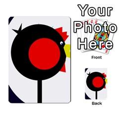 Fat chicken Multi-purpose Cards (Rectangle)