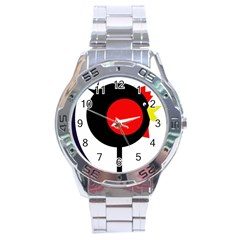 Fat chicken Stainless Steel Analogue Watch