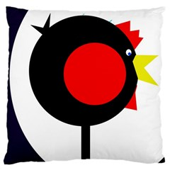 Fat chicken Large Cushion Case (One Side)